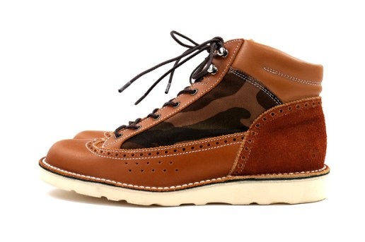 UNTOLD x CAUSE 2012 Fall/Winter Medallion Work Boots