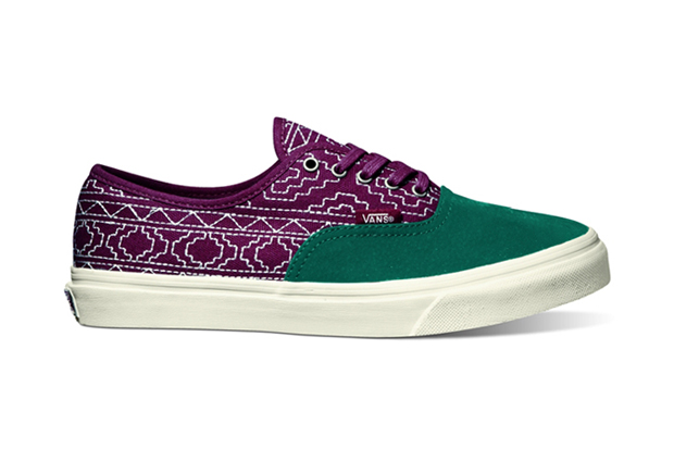 vans california authentic ca 2012 fall native embroidery sneaker