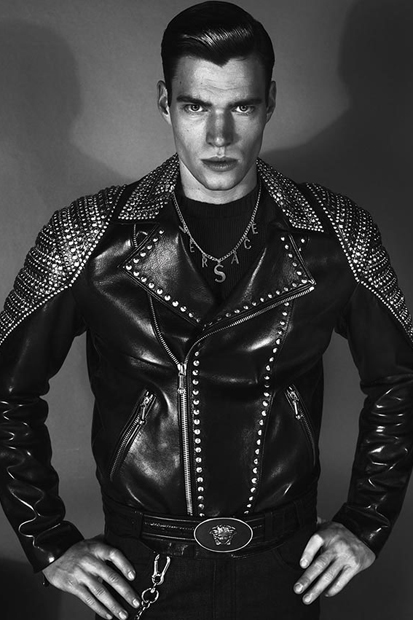 versace 2012 fall winter campaign 2