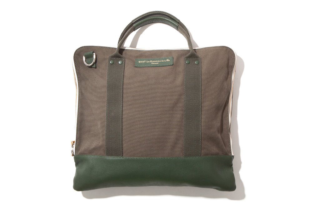 WANT Les Essentiels de la Vie 2012 Fall/Winter Heathrow Commuter Bag