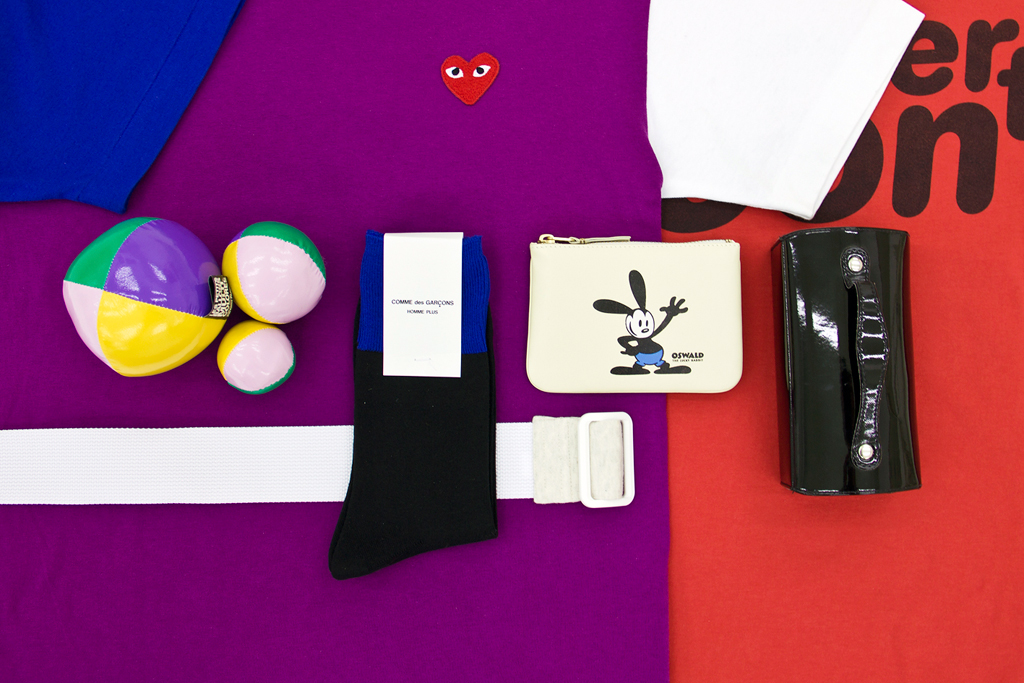 Winner Announcement! Win a COMME des GARCONS Limited Edition Kit from NUMBER 3 Store!