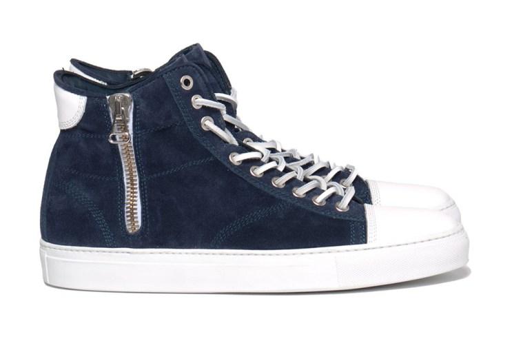 wings + horns 2012 Fall/Winter High-Cut Suede Sneaker