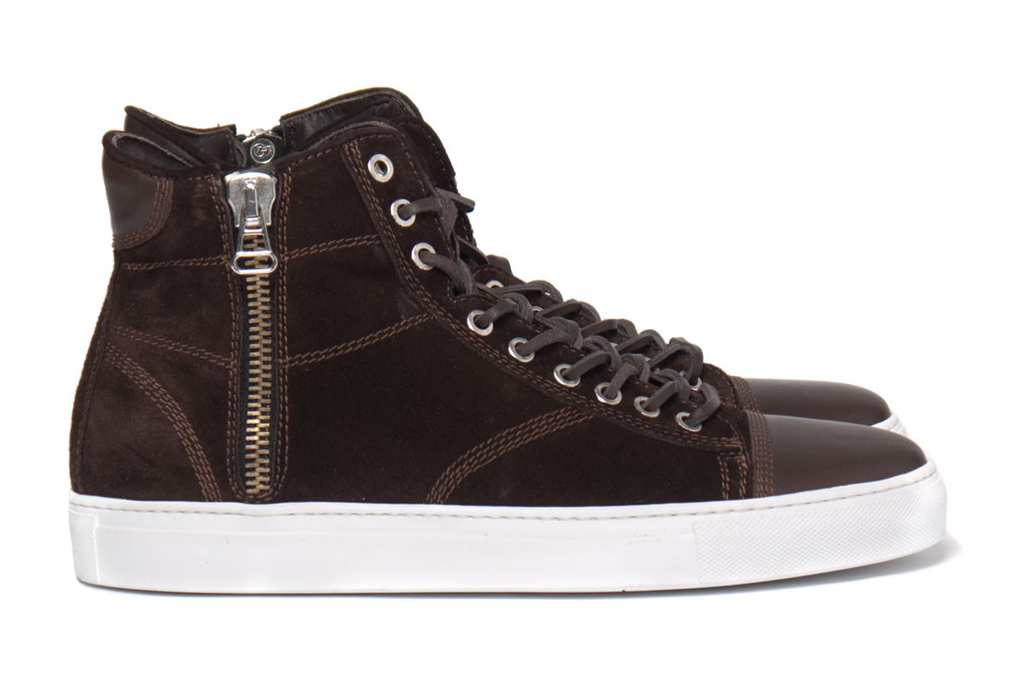 wings + horns 2012 Fall/Winter High-Cut Suede Sneaker
