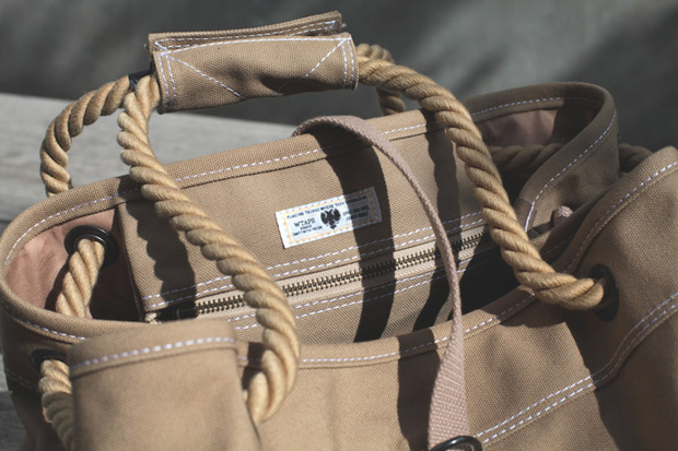 WTAPS 2013 Spring/Summer Canvas Beach Bag
