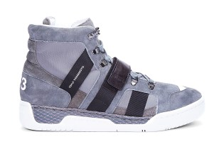 Y-3 2012 Fall/Winter Grey Suede Held Sneaker