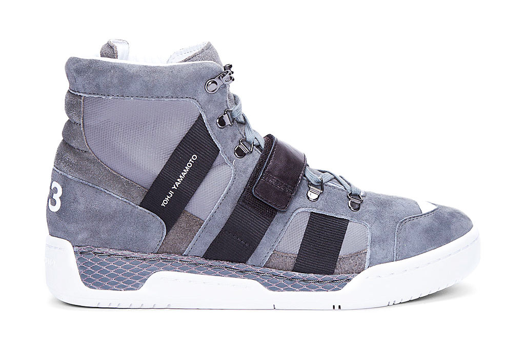 Y-3 2012 Fall/Winter Grey Suede Held Sneaker