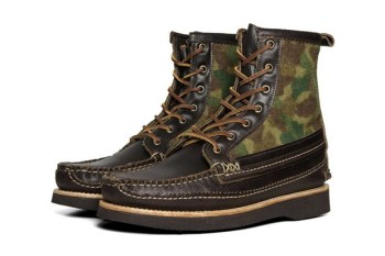 """Yuketen 2012 Fall/Winter """"Camo"""" Maine Guide DB Boot"""