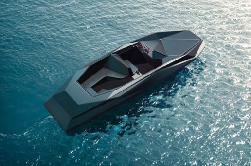 Zaha Hadid's Luxury Z Speedboat by Shoreteam