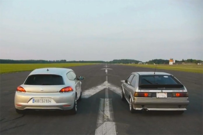 2012 Volkswagen Scirocco Faces Off Against an '87 Scirocco 16V