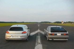 2012 Volkswagen Scirocco Faces Off Against an '87 Scirocco 16V