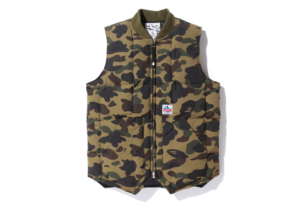 A Bathing Ape 2012 Fall/Winter 1ST CAMO Down Vest