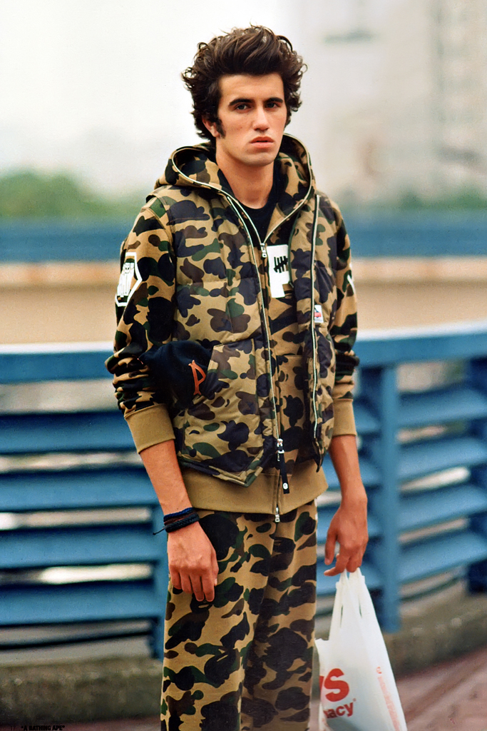 a bathing ape x undefeated 2012 fall winter collection lookbook