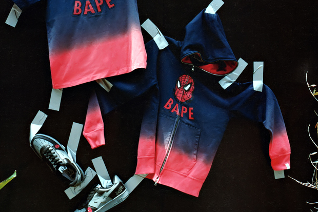 "A Bathing Ape x Marvel Comics 2012 Fall/Winter ""Spider-Man"" Capsule Collection"