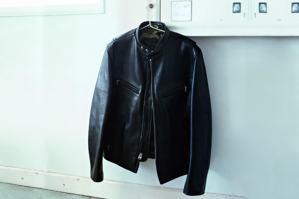 a bathing ape x schott nyc 2012 fall winter riders jacket