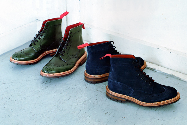 A Bathing Ape x Tricker's 2012 Fall/Winter Stow Boots
