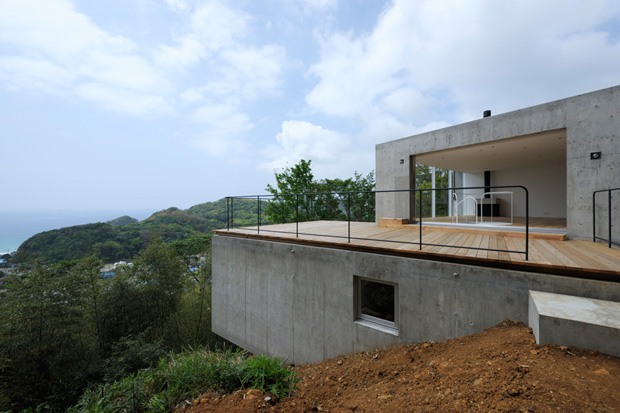 'A' House in Kisami by Florian Busch Architects
