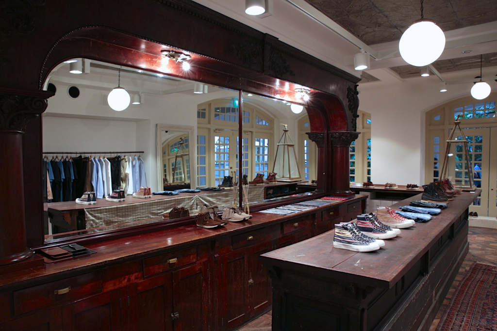 A Look Inside visvim's F.I.L. Boutique in Singapore