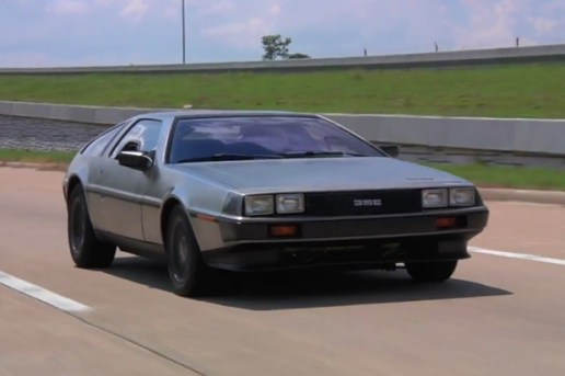 A Test Drive of the Electric DeLorean & a Tour of the Headquarters