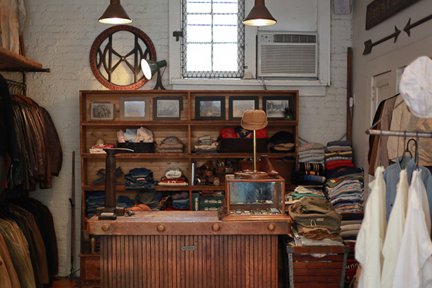 a visit to stock vintage in new york city