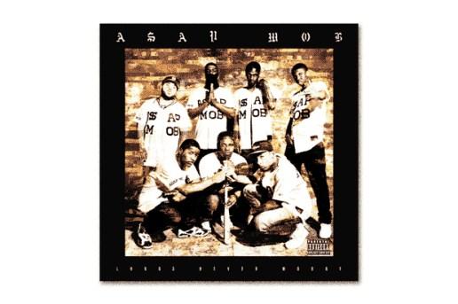 A$AP Mob 'Lord$ Never Worry' Mixtape Art by Ricky Saiz & Matthew Williams