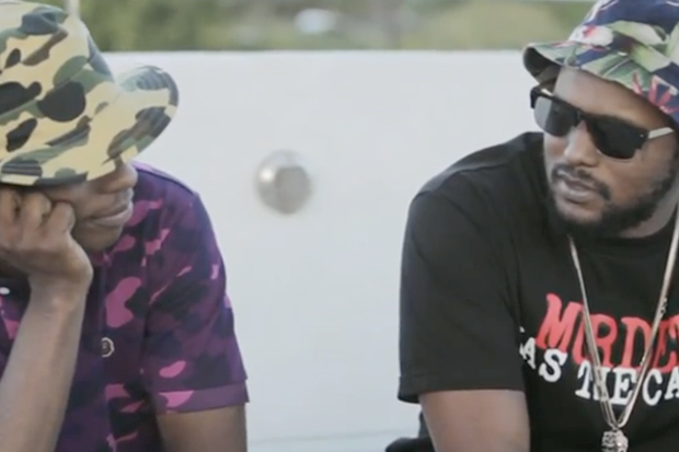 """A$AP Rocky & ScHoolboy Q """"Back and Forth"""" Interview"""