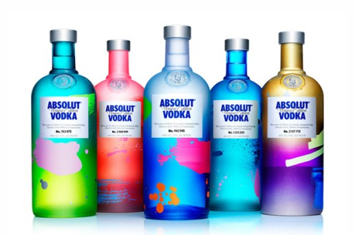 ABSOLUT UNIQUE: 4 Million Uniquely Artful Bottles