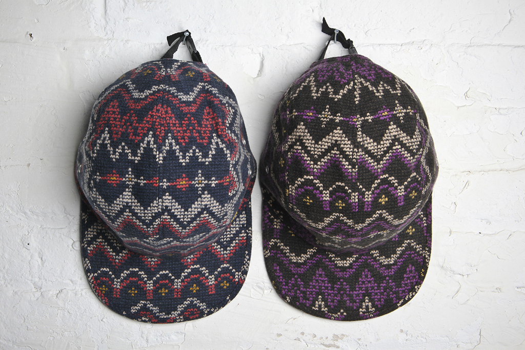 Acapulco Gold Digital Fair Isle Camp Caps
