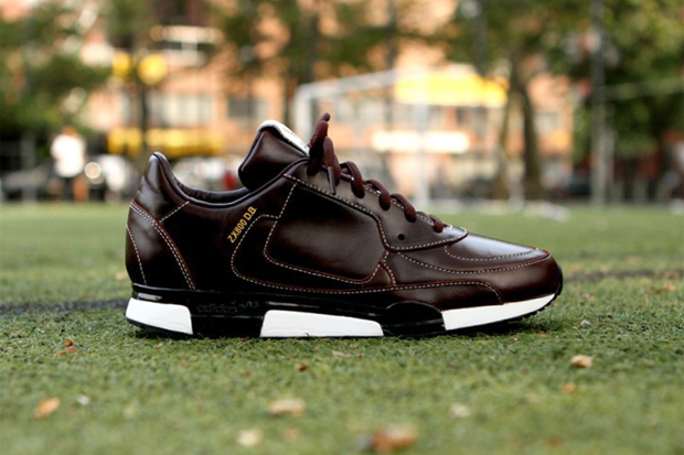 adidas originals by james bond for david beckham 2012 fall winter zx 800 brown leather