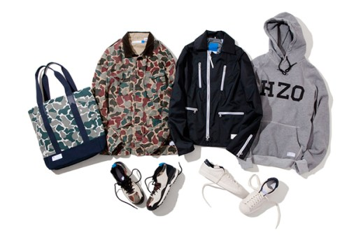 "adidas Originals 2012 Fall/Winter ""BLUE"" Collection"