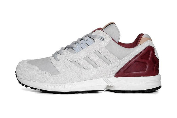 adidas Originals ZX 8000 Grey/Maroon