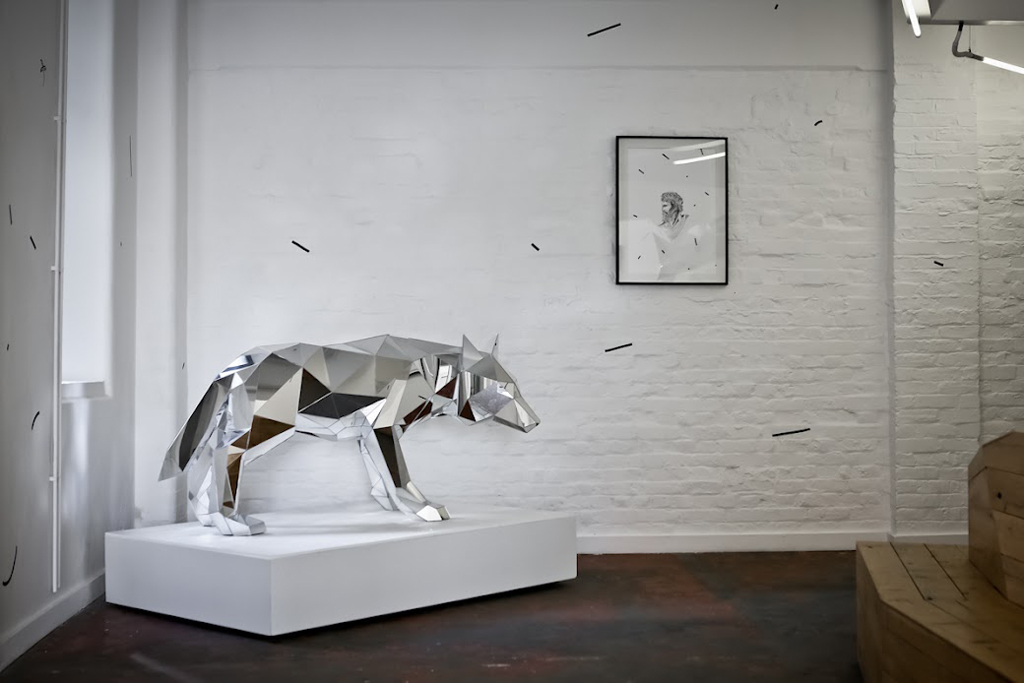 Arran gregory quot wolf exhibition print house gallery