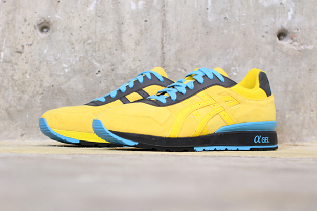 bait x asics gt ii olympic rings yellow