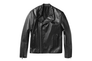 Balenciaga Perfecto Leather Biker Jacket