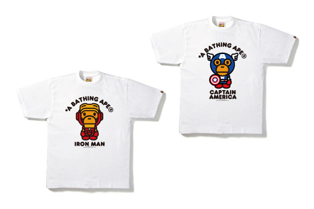 marvel comics x a bathing ape 2012 the avengers collection