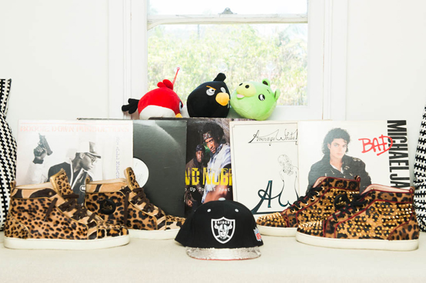 ben baller shows off his house and belongings for coveteur
