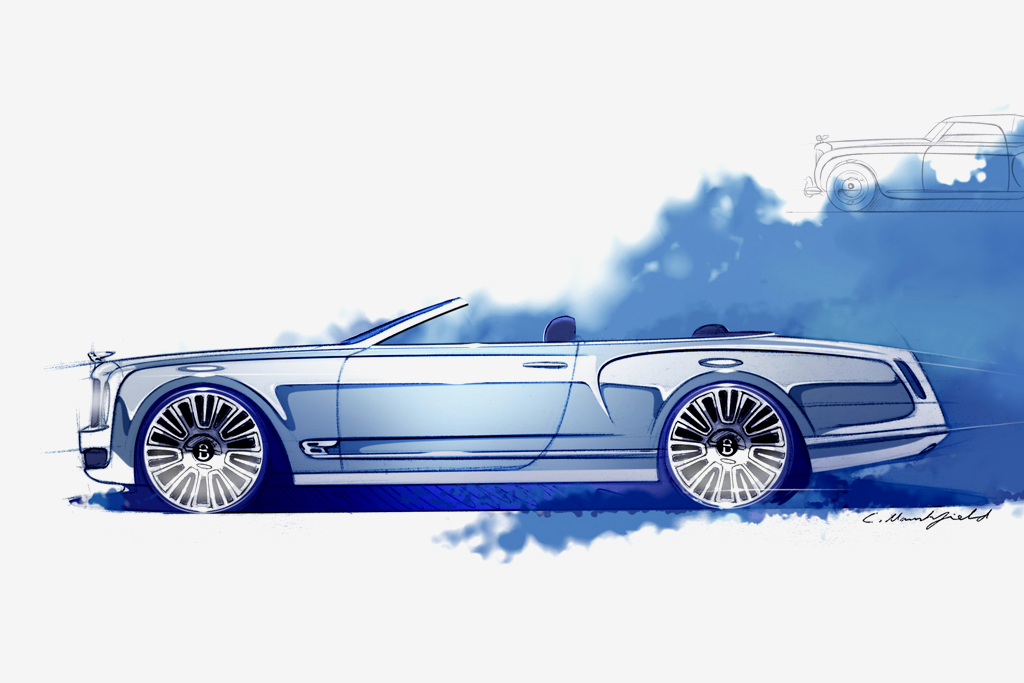 Bentley Announces Mulsanne Convertible Concept