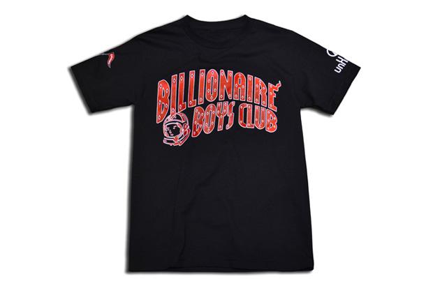 "UNKNWN x Billionaire Boys Club 2012 ""Championship Collection"" Black T-Shirt"