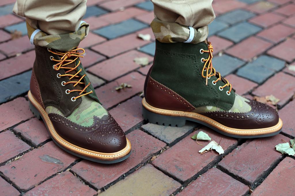 Bodega x Mark McNairy Country Brogue Boot & Shoe