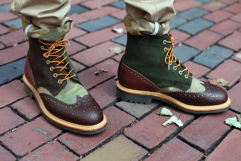 Bodega x Mark McNairy Country Brogue Boot & Shoe