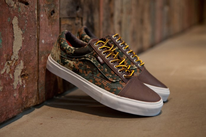 Carhartt WIP x Vans Syndicate 2012 Fall Old Skool Camo