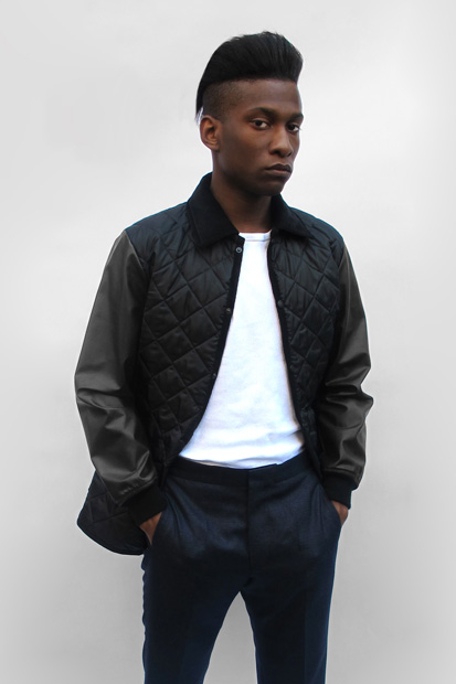 casely hayford x lavenham quilted jacket