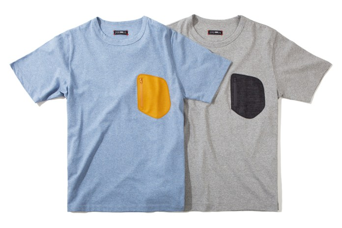 CASH CA 2012 Fall/Winter Wool Pocket S/S T-Shirts