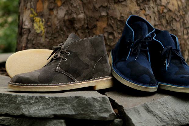 Clarks Originals 2012 Fall/Winter Camo Collection