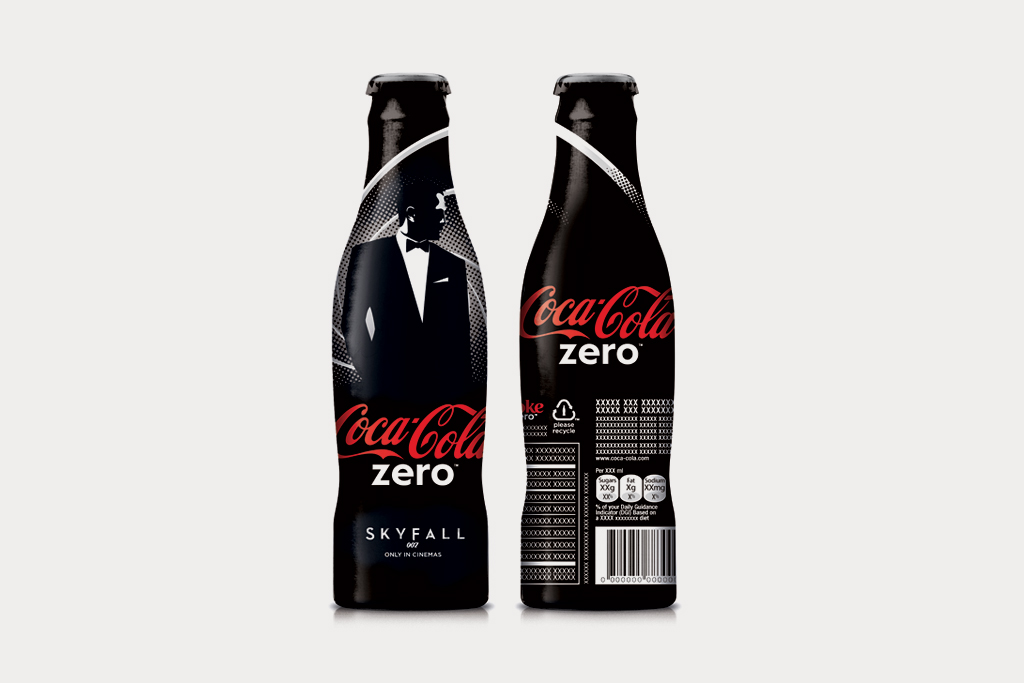 coca cola unveils limited edition james bond series