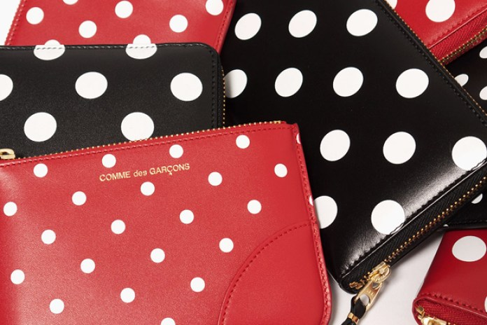 COMME des GARCONS WALLET Polka Dot Collection