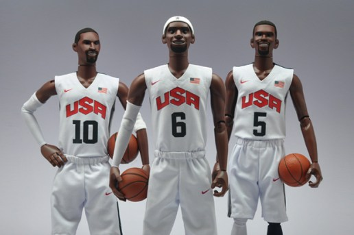 "Nike NSW x Coolrain ""Dream Team"" Figures featuring Kobe Bryant, LeBron James and Kevin Durant"