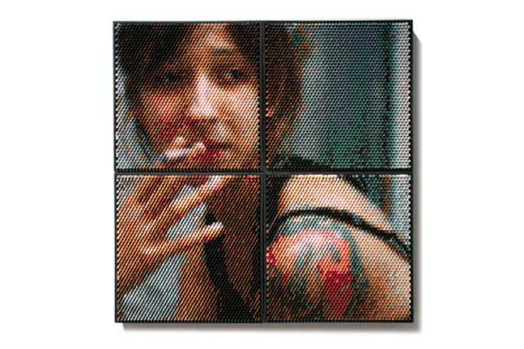 Crayon Portrait Series by Christian Faur