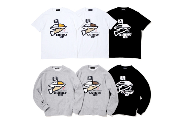 CURRY UP x mastermind JAPAN Collection