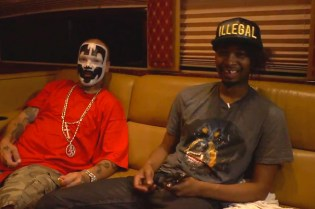 Danny Brown & Insane Clown Posse 'Back & Forth' Interview Video