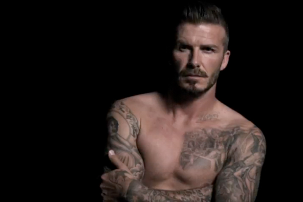 David Beckham Bodywear 2012 Fall Interview